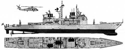 USS CG-47 Ticonderoga