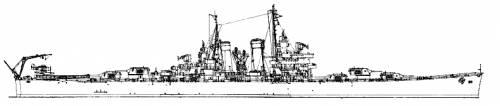 blueprints ships cruisers us uss cl 50 helena. Black Bedroom Furniture Sets. Home Design Ideas