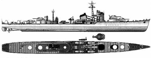 IJN Akizuki (Destroyer)