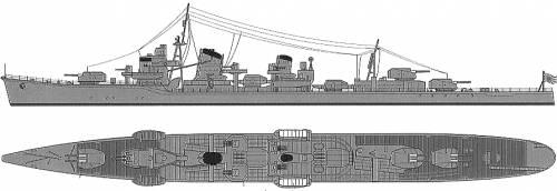 IJN Asashimo (Destroyer)