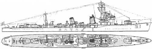IJN Hatsuharu (Destroyer) (1936)