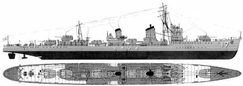 IJN Isokaze (Destroyer) (1940)