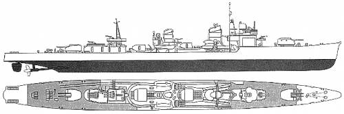 IJN Isokaze (Destroyer) (1945)