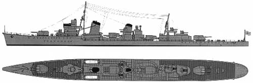 IJN Kasumi (Destroyer)