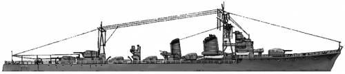 IJN Shimakaze (Destroyer) (1943)