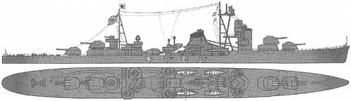 IJN Shimozuki (Destroyer)