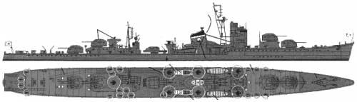IJN Suzutsuki (Destroyer) (1945)