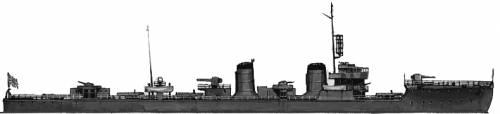 IJN Yukaze (Destroyer) (1944)