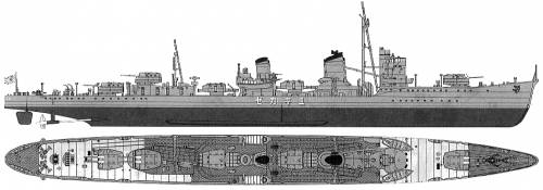 IJN Yukikaze (Destroyer) (1940)