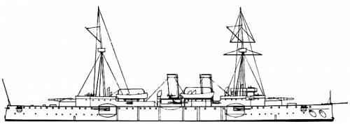 KuK Kaiser Franz Joseph I (Cruiser) (1892)