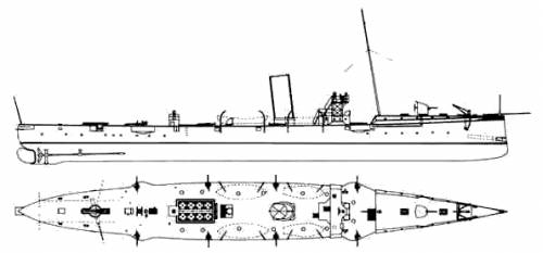 KuK Satellit (Destroyer) (1893)