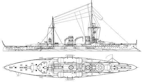 SMS Blucher http://www.the-blueprints.com/blueprints/ships/ships-germany/43708/view/sms_blucher_(armored_cruiser)/