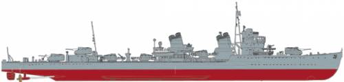 IJN Amagiri (Destroyer)