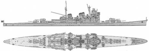 IJN Ashigara (Heavy Cruiser)