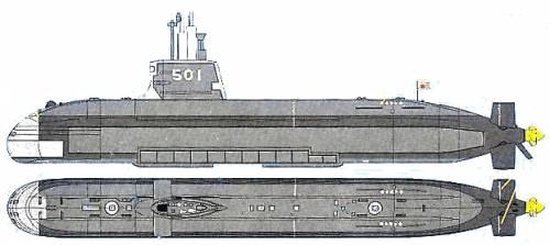 JMSDF SS-501 Soryu (Submarine)