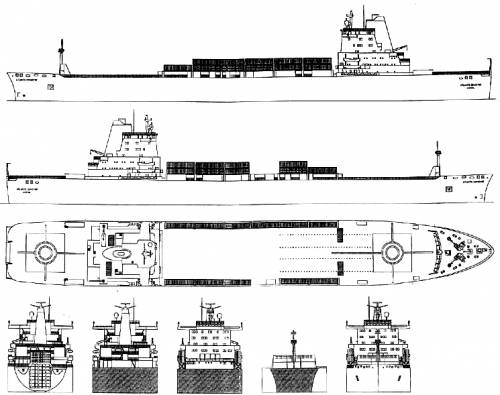 Blueprints ships ships other atlantic conveyor container atlantic conveyor container ship 1982 malvernweather Choice Image
