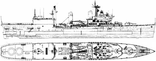 HMS Tiger C-80 (Helicopter Cruiser) (1978)