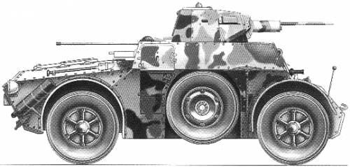 Ansaldo AB 41 Armored Car
