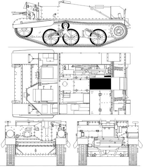 Blueprints tanks tanks b bren carrier mkii bren carrier mkii malvernweather Image collections
