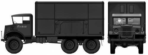 GMC 60X 3-ton 6x6 Mobile Workshop (1942)