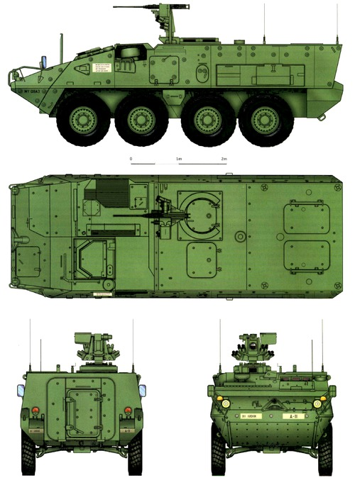The blueprints tanks tanks m m1126 Blueprints for sale