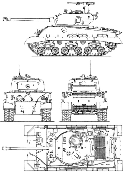 M4a3e8 drawing images galleries with for Blueprint sizes