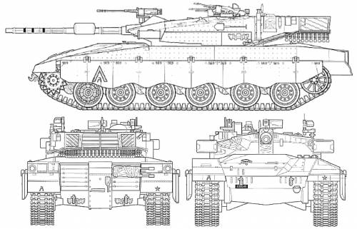 NationStates | Dispatch | Merkava Mk IV Main Battle Tank