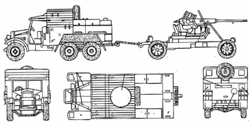 Morris Comercial - Bofors 40mm Gun