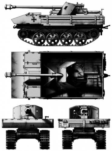 RSO 75mm Pak 40 Panzerjager