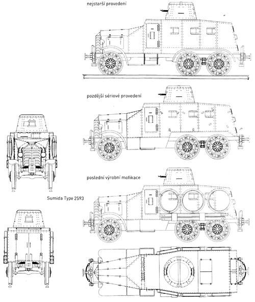 Type 2593 Sumida blueprint