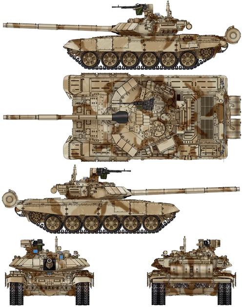 2015 - الجزائر تستلم حزمة ثالثة  من  [ دبابات T-90  ]   - صفحة 4 T_90sa-67214