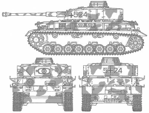 blueprints  u0026gt  tanks  u0026gt  ww2 tanks  germany  1   u0026gt  pz kpfw  iv