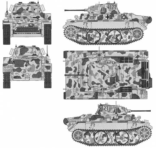 Is A 1/16 Panzer II Luchs Conversion To Ausf C Possible