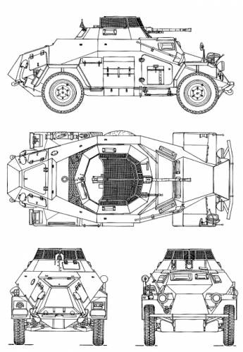 Looking For A Chassis For A Scale Armored Car Sdkfz 222