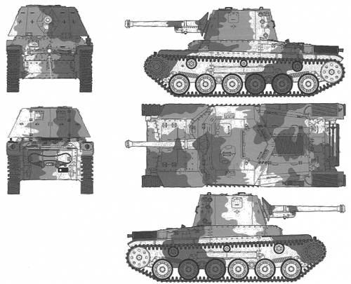 Type 3 Tank Ho-Ni III