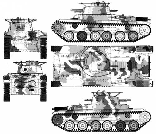 Type 97 Chi-Ha 57mm