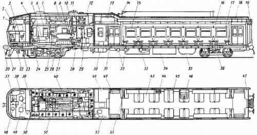 RVR DR1A Diesel Locomotive