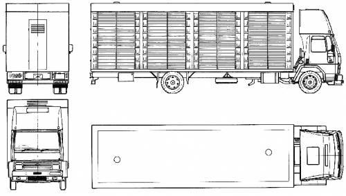 Ford E Cargo 1115 (1986)