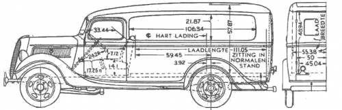 Ford Panel Truck (1937)