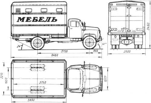 GAZ-52-01 GZSA-893A