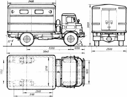 GAZ-66-01 GZSA-947