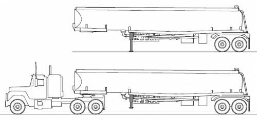 Tanker Trls likewise 400759992157 as well 400759992157 in addition  furthermore Watch. on mack trucks and lowboy trailer