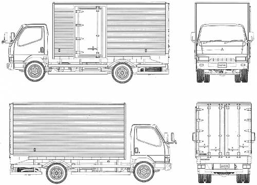 The Blueprints Com Blueprints Gt Trucks Gt Mitsubishi Fuso