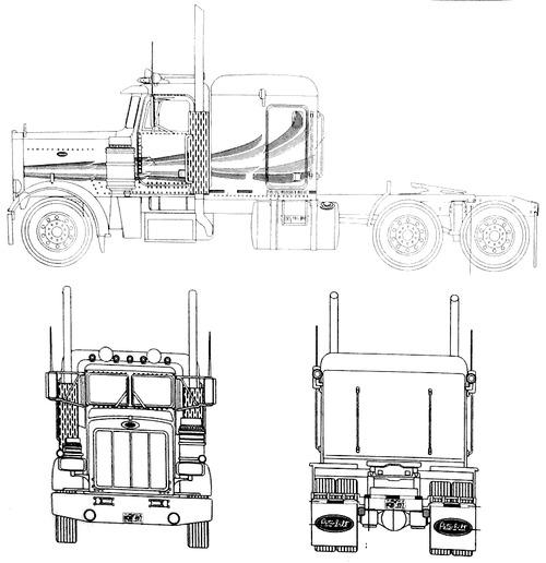 blueprints  u0026gt  trucks  u0026gt  peterbilt  u0026gt  peterbilt 359