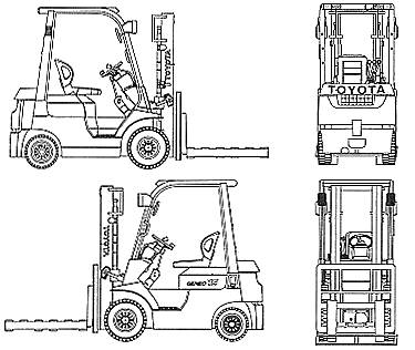 Forklift Drawing on wiring diagram logo