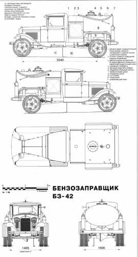the blueprints trucks trucks bz 42. Black Bedroom Furniture Sets. Home Design Ideas