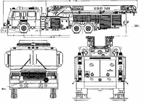 the blueprints trucks trucks fire truck. Black Bedroom Furniture Sets. Home Design Ideas