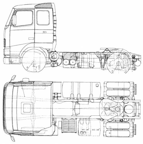 ... .com - Blueprints > Trucks > Volvo Trucks > Volvo FH-16 Air Ride