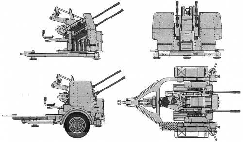 20mm Flakvierling 38