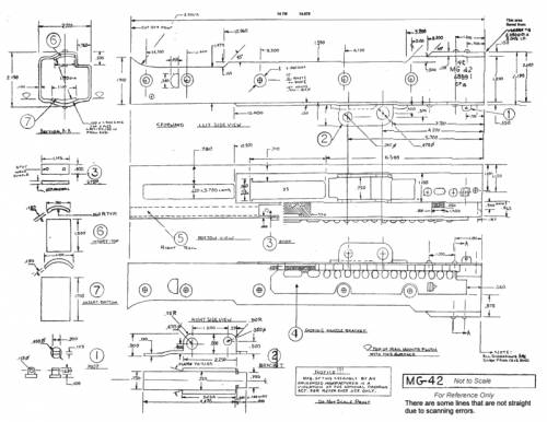 The blueprints weapons machine guns Building blueprint maker
